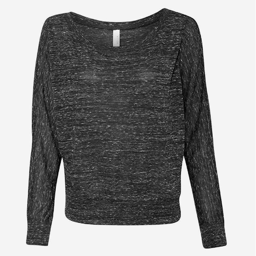 Customizable Surplus Long Sleeve Flowy Top