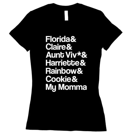 Short Sleeve Ladies My Momma and Nem Tee