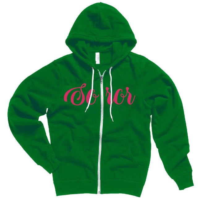 AKA Soror Fleece Jacket