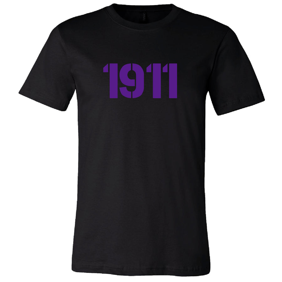 Short Sleeve Purple 1911 Tee