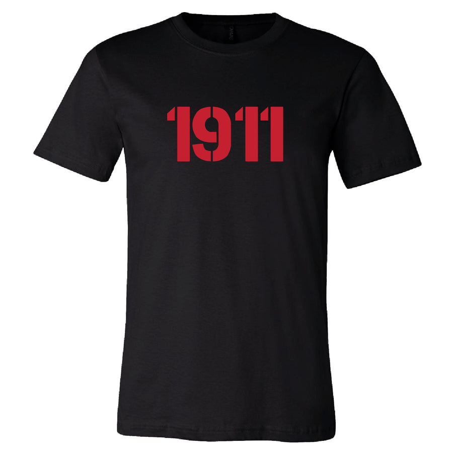 Short Sleeve Red 1911 Tee