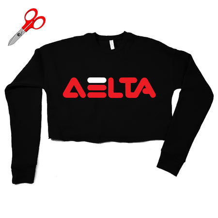Fila Delta DST Cropped Fleece Sweatshirt