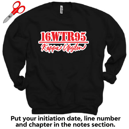 Initiation Chapter Fleece Sweatshirt