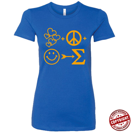 Short Sleeve Blue and Gold Series AOML Tee