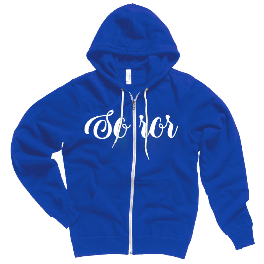 Zeta Soror Fleece Jacket
