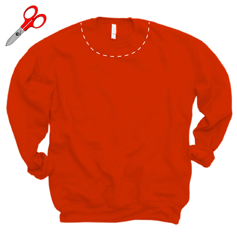 Cut Sweatshirt