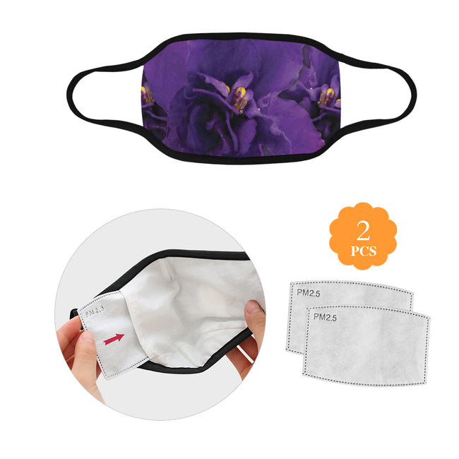 3 Violets Mask w/2 Filters Direct from Supplier