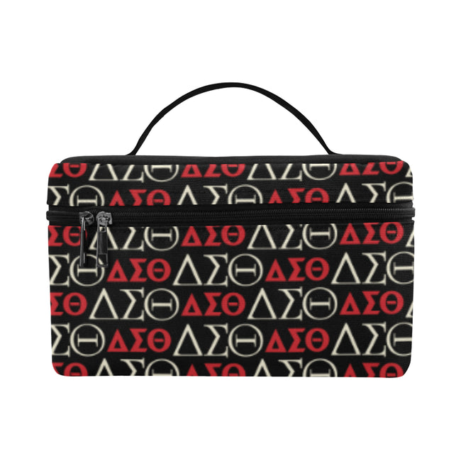 Black DST Toiletry Bag Cosmetic Bag/Large (Model 1658)