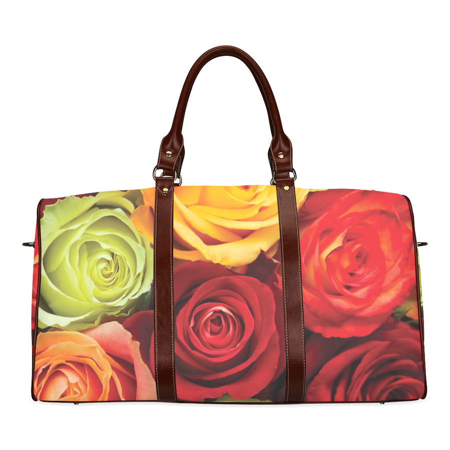 Rose Waterproof Duffel Bag - Small