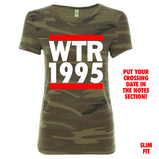 Short Sleeve Camo Run Crossing Tee
