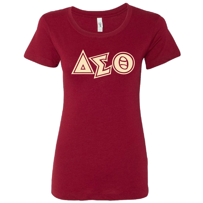 Short Sleeve Crimson Signature DST Tee