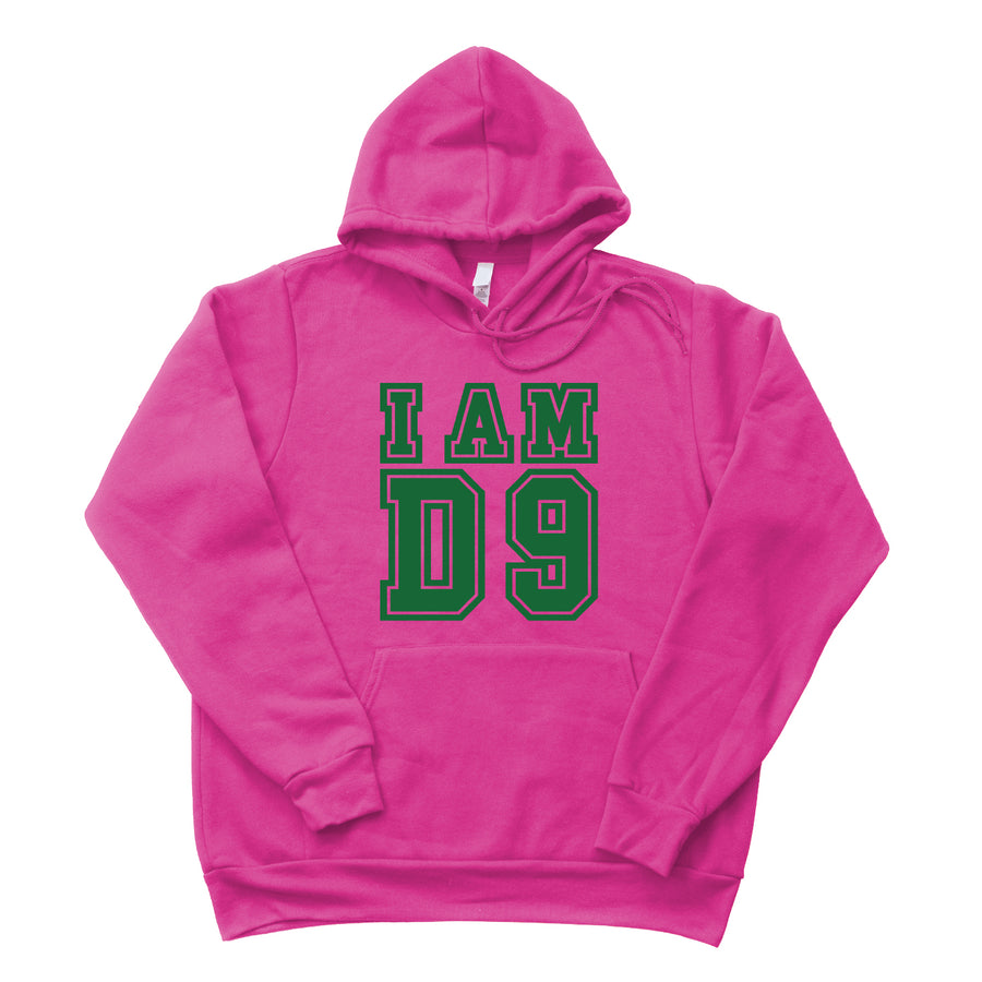 Custom I AM D9 Fleece Hoodie