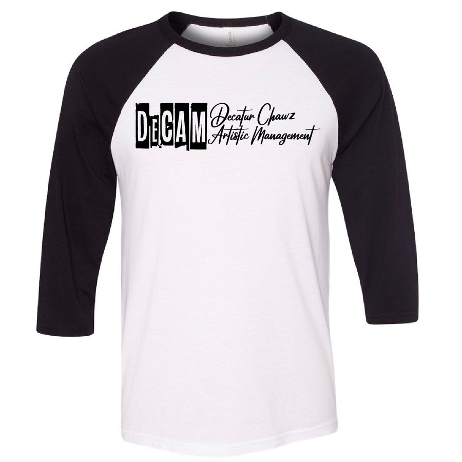 Custom DECAM Baseball Tee