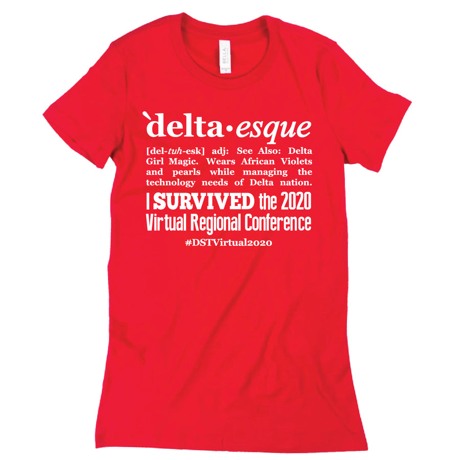 Custom Short Sleeve Delta-esque Tech Tee