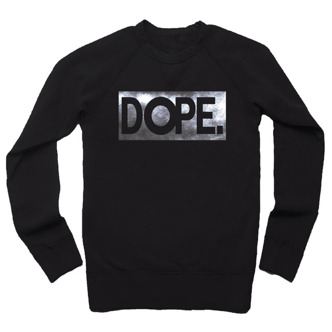 Black DOPE French Terry Sweatshirt