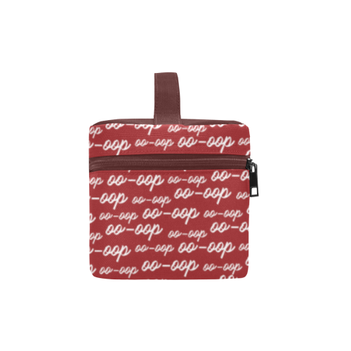 Red OO-OOP Toiletry Bag