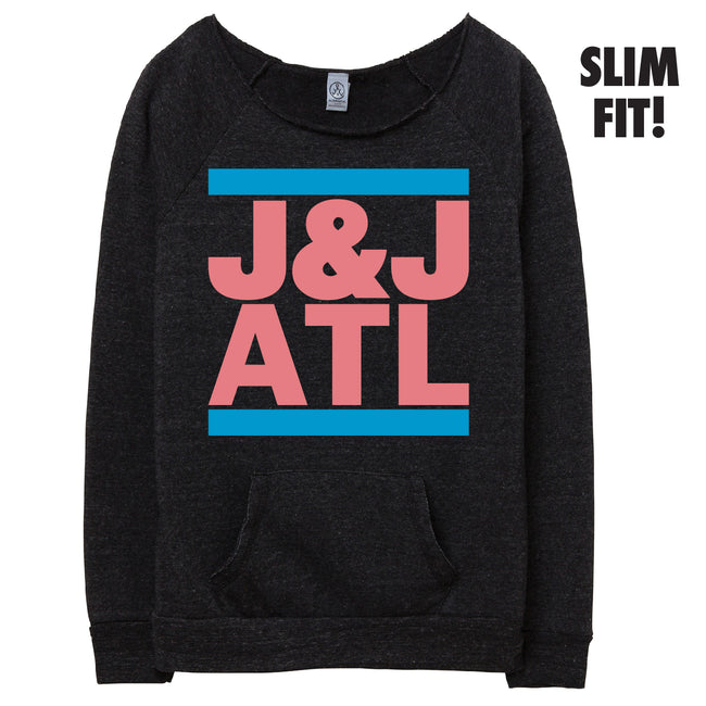 Raw Neck RUN Jack and Jill Sweatshirt