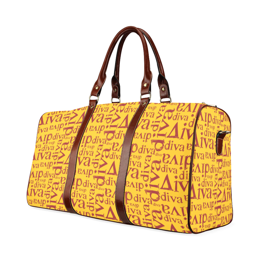 Lindsay's Gold Diva Waterproof Duffel Bag