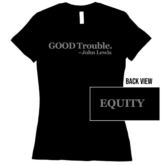 Short Sleeve Ladies Good Trouble Tee