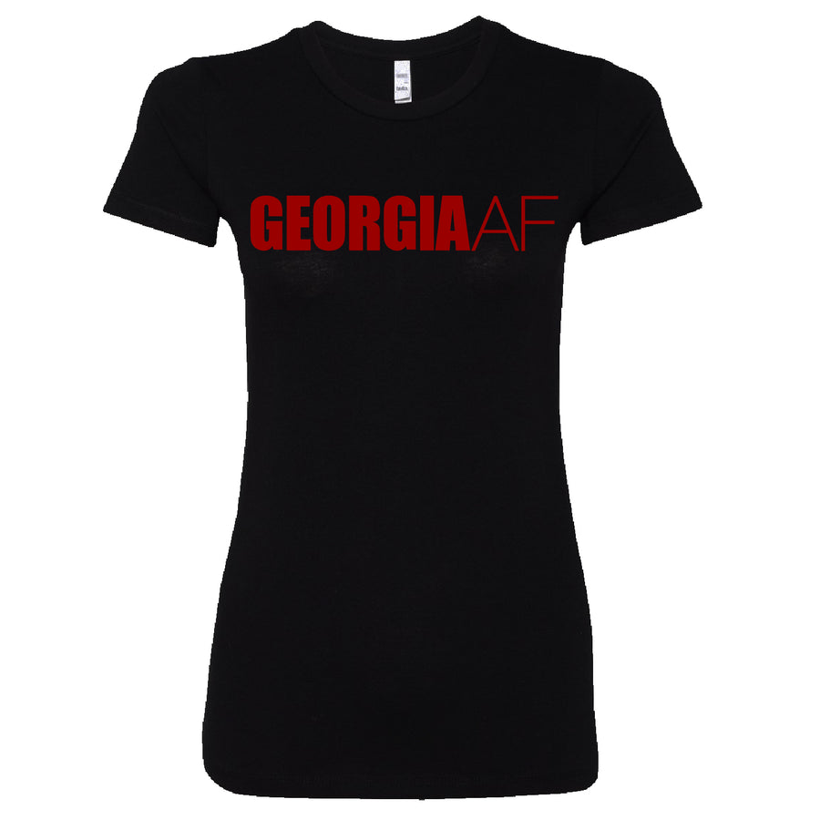 Short Sleeve Ladies GeorgiaAF Tee