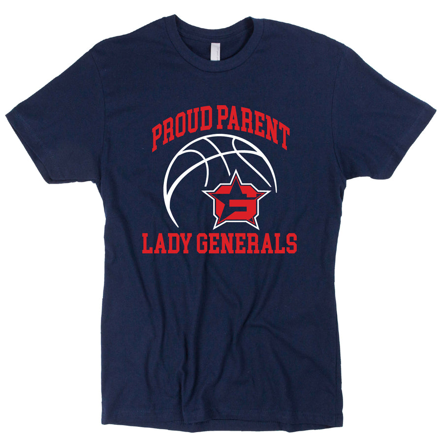 Custom Short Sleeve Lady Generals Tee
