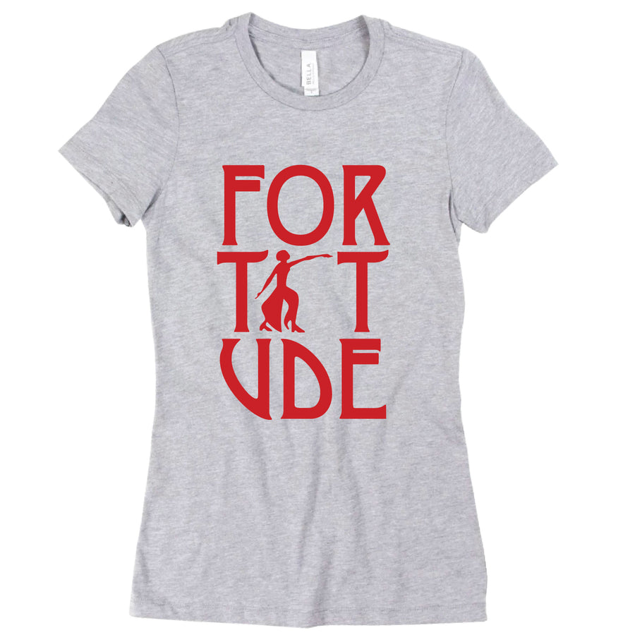 Short Sleeve Vertical Fortitude Tee