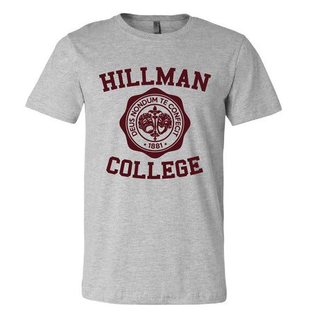 Short Sleeve Hillman College Mens Tee