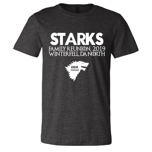 Short Sleeve Mens Starks Family Reunion Tee
