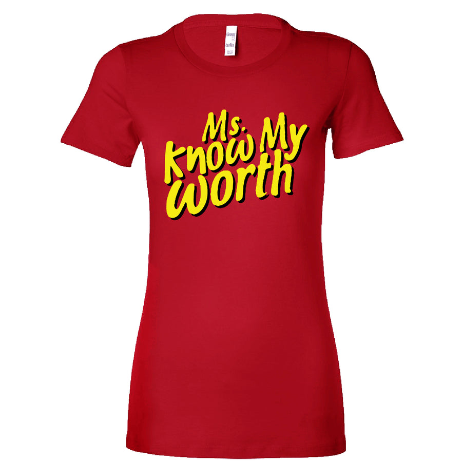 Short Sleeve Ms. Know My Worth Tee