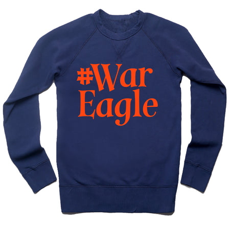 #WarEagle Unisex French Terry Sweatshirt