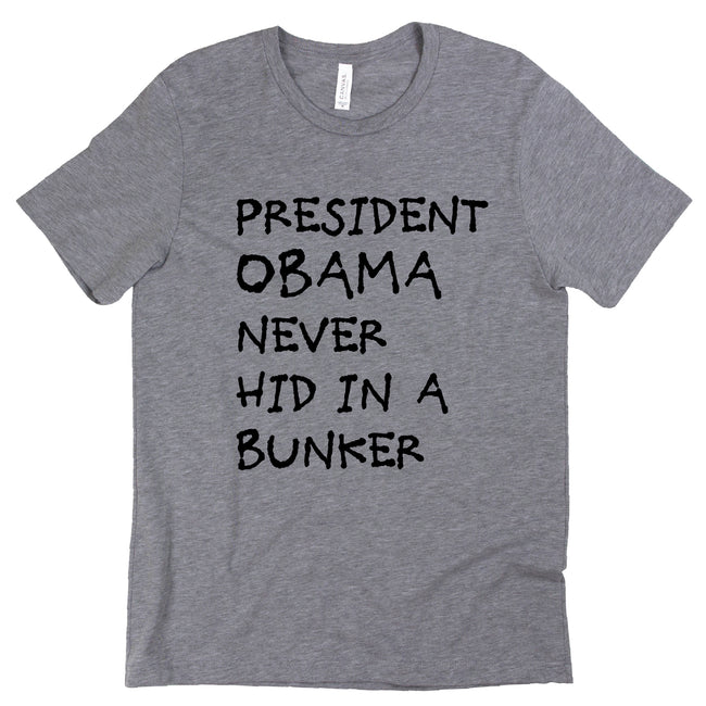 Short Sleeve Obama Never Hid Tee