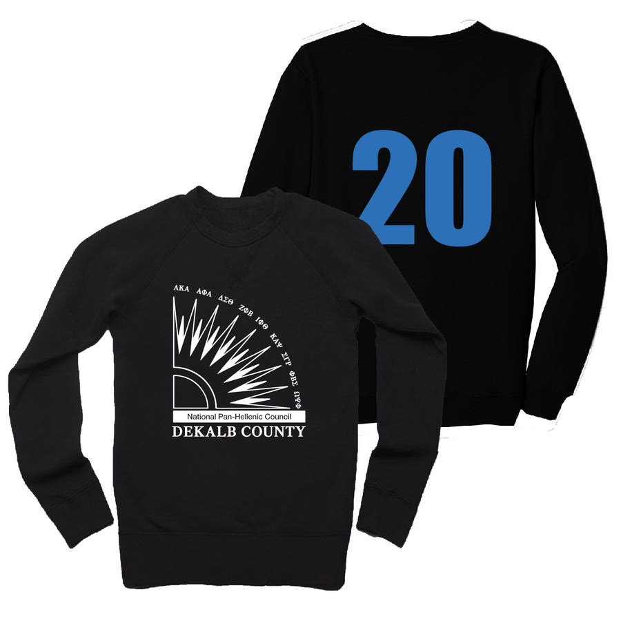 NPHC Dekalb Unisex French Terry Sweatshirt Zeta