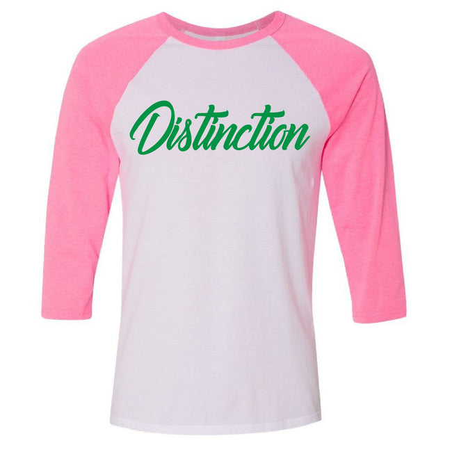 Distinction Baseball Tee