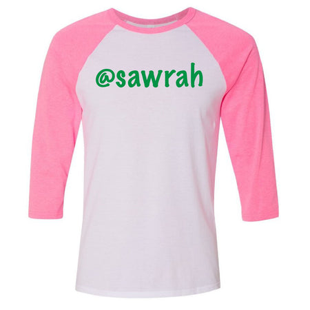 At Sawrah Baseball Tee