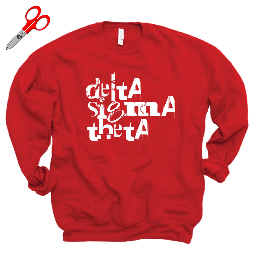 Grunge DST Fleece Sweatshirt