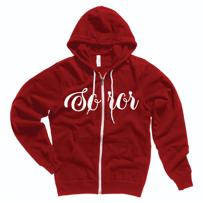Delta Soror Fleece Jacket