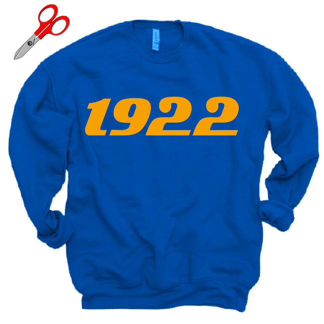 1922 Fleece OVERSIZED Sweatshirt