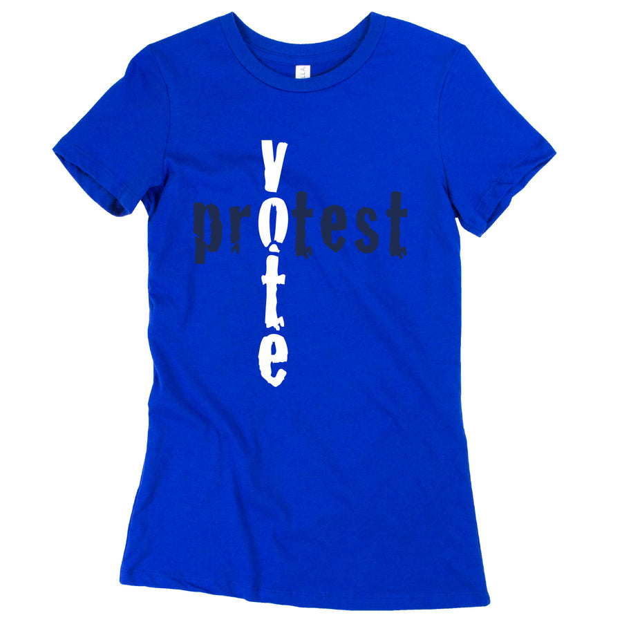 Short Sleeve Vote Protest Tee