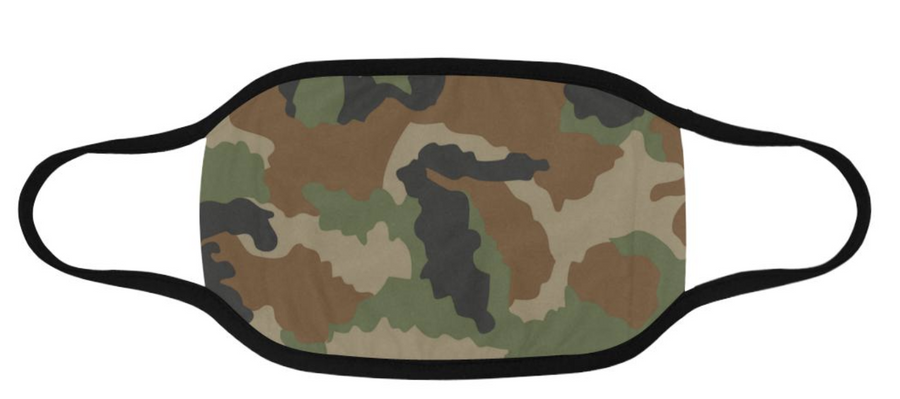 Camo Mask Domestic Ship