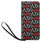 Black DST Zip Clutch