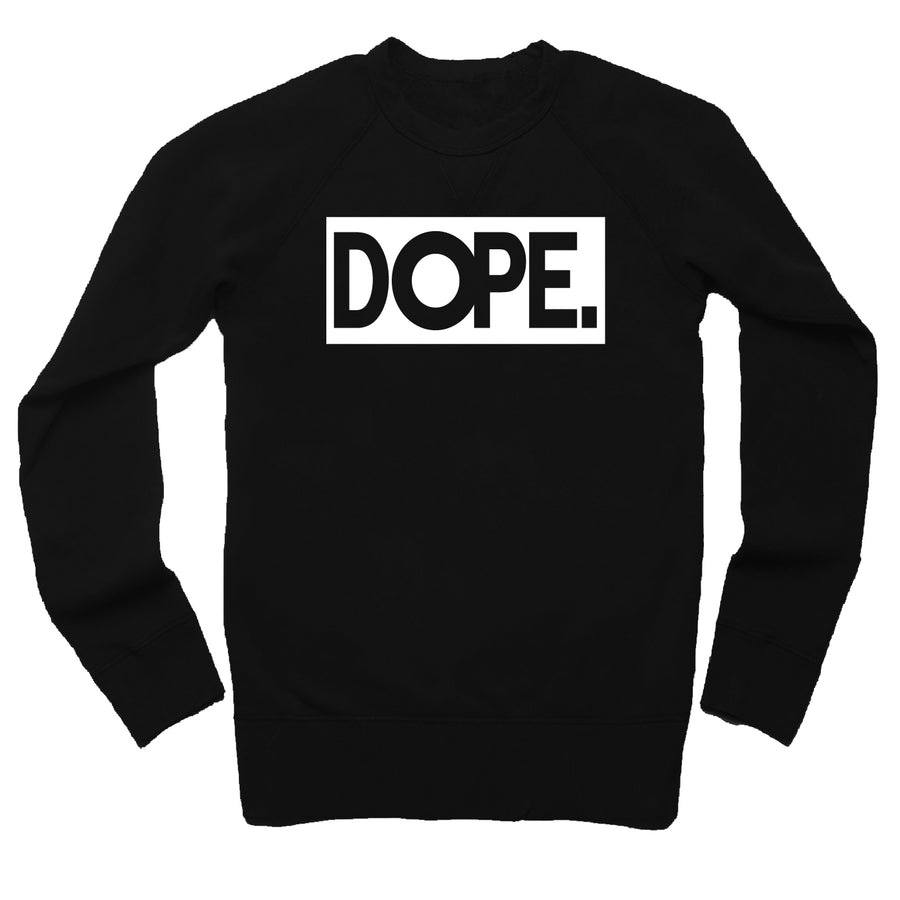 Square Dope  French Terry Sweatshirt