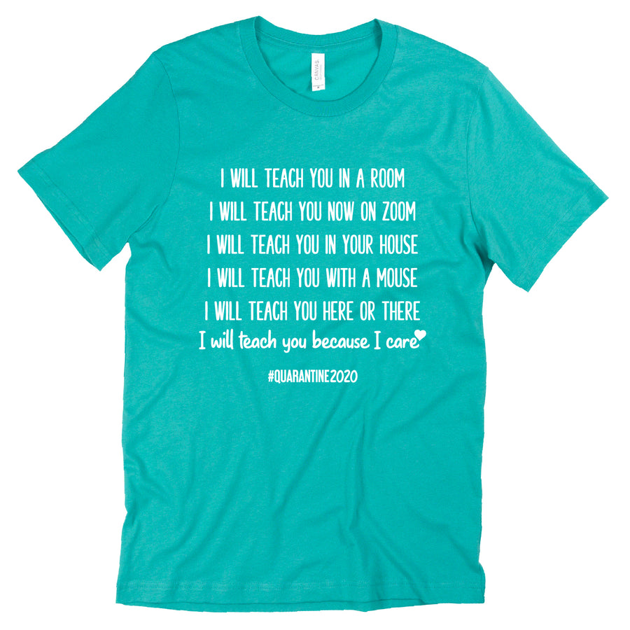 Custom I Will Teach You Tee