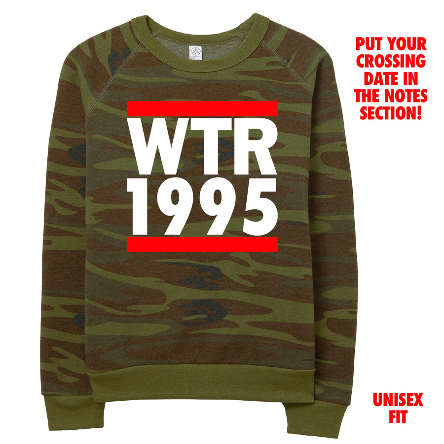 Camo RUN Crossing Date Sweatshirt