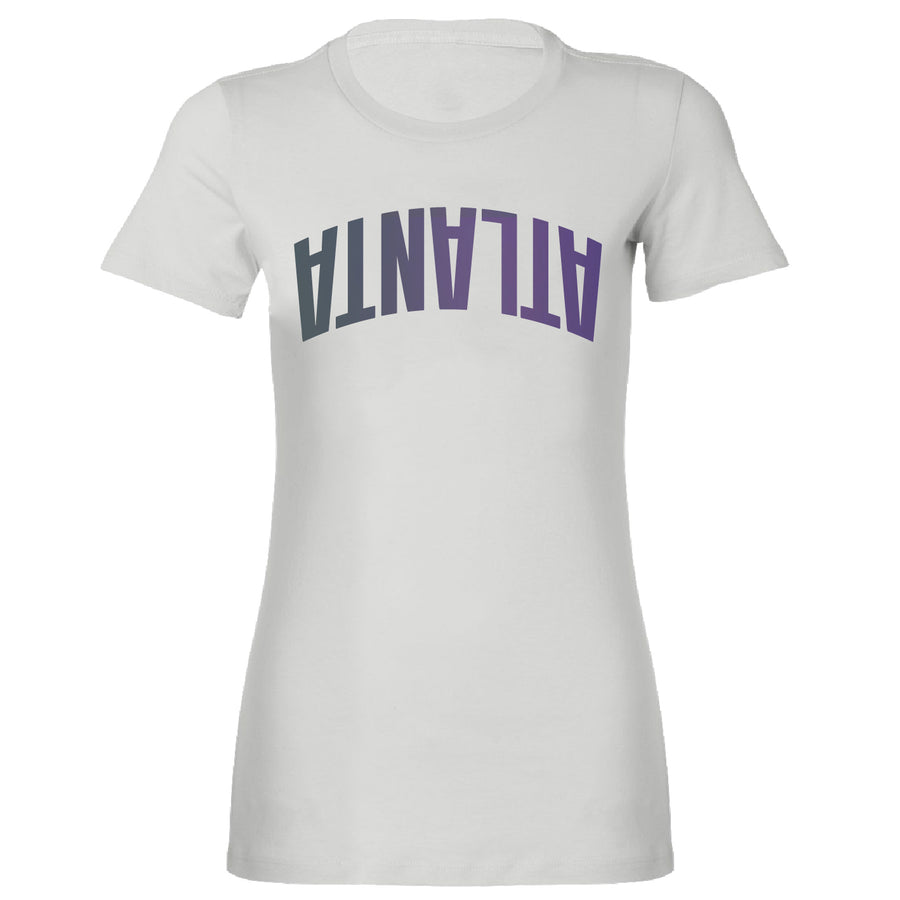 Short Sleeve Ladies Mirror ATLANTA Tee