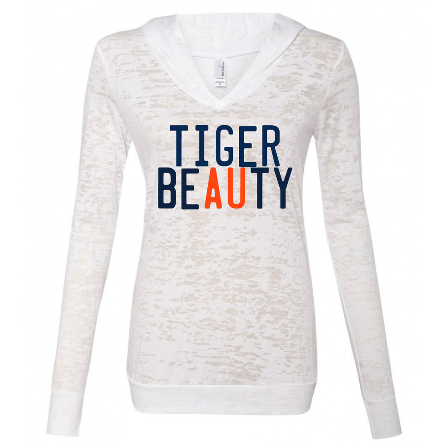 Tiger Beauty Burnout Hoodie