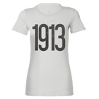 Short Sleeve Ladies Pewter 1913 Tee