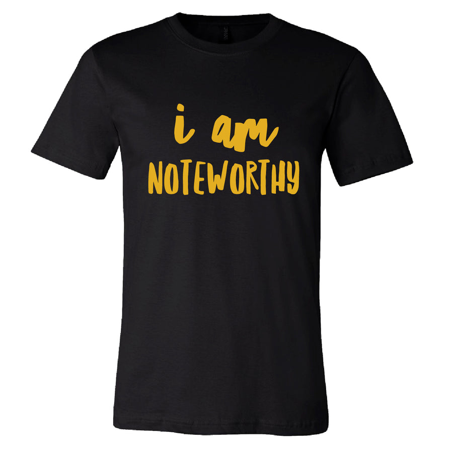 Custom Mens I Am Noteworthy Tee