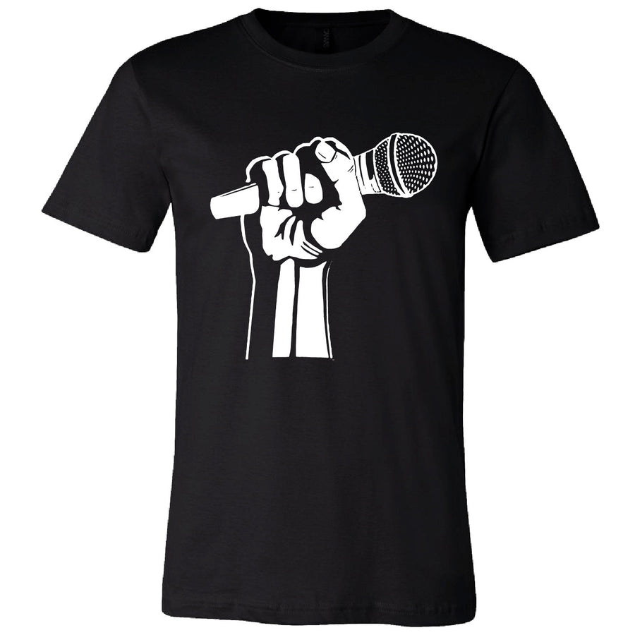 Short Sleeve Mic Fist Mens Tee