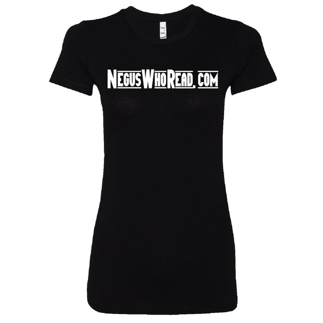 Short Sleeve NegusWhoRead Ladies Tee