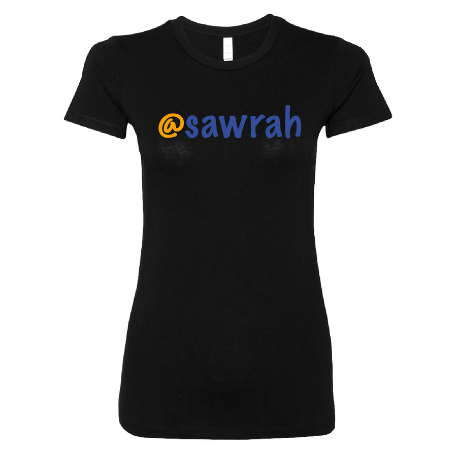 Short Sleeve Sawrah Tee - Blue and Gold Theme